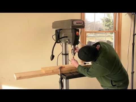 Harbor Freight 20 Inch Drill Press - Unboxing and Assembly