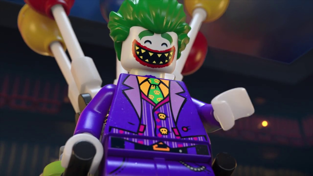 The Joker Balloon Escape The Lego Batman Movie 70900 Product Animation Youtube