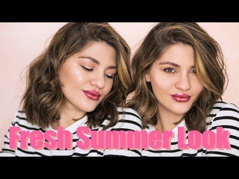 Fresh Summer Look || Machiaj de vara stralucitor | Laura Musuroaea