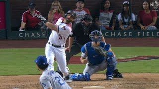 LAD@ARI Gm3: Descalso smacks a solo homer to right