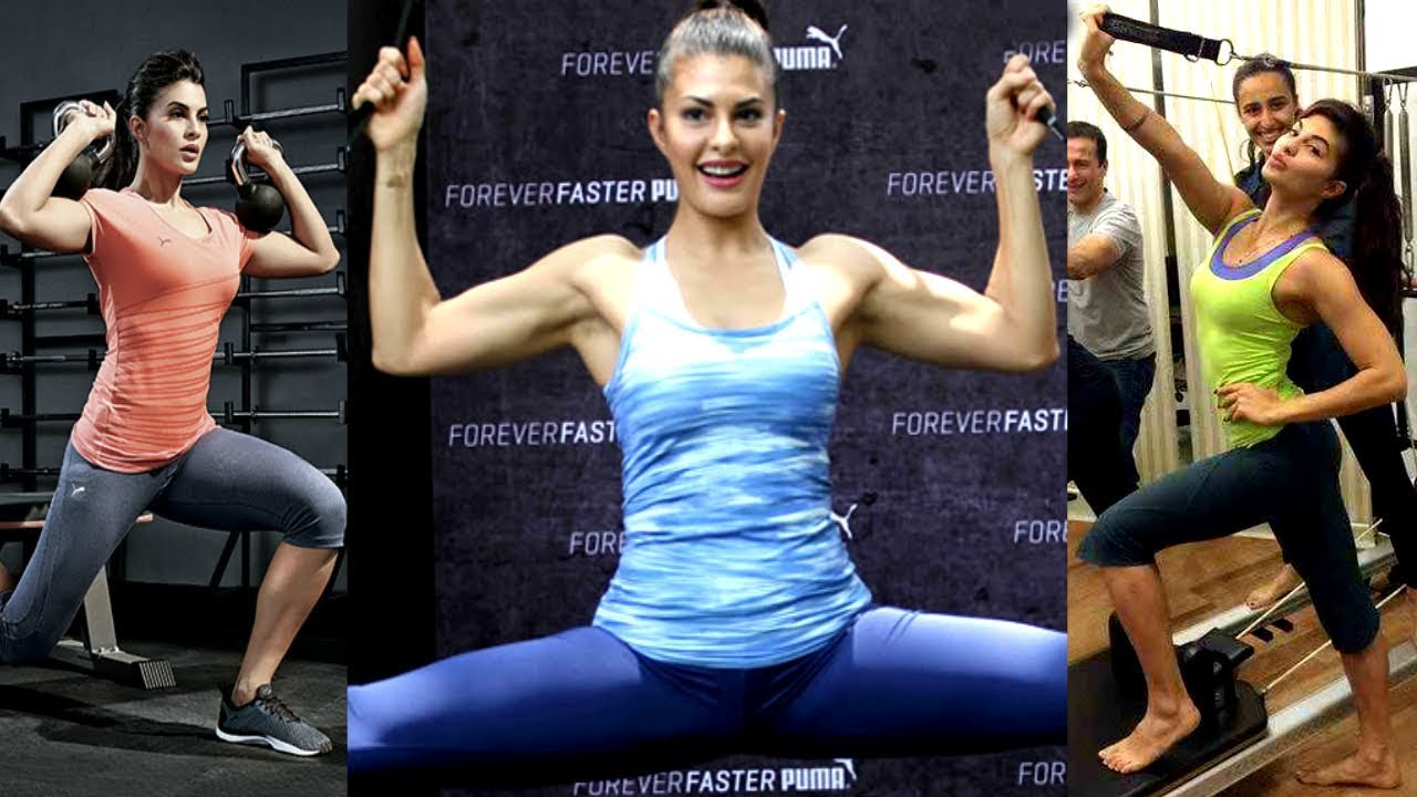 Jacqueline Fernandez AMAZING Gym Workout Video – SAM's HEALTH and Fitness