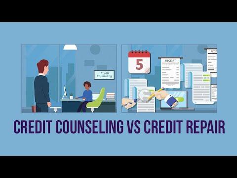 Credit Counseling vs Credit Repair