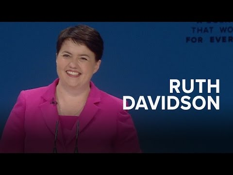 Ruth Davidson: Speech to Conservative Party Conference 2016