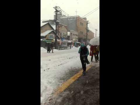 10 Jan 2016.... heavy snow in Hakodate