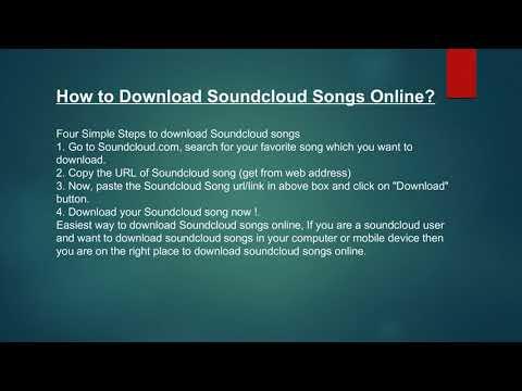 Best Online Soundcloud Downloader