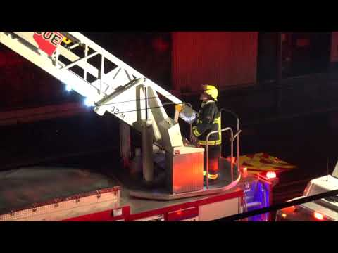 Vancouver BC - 2nd Alarm Fire destroys store