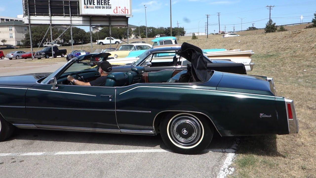 1976 Cadillac Eldorado Convertible Youtube