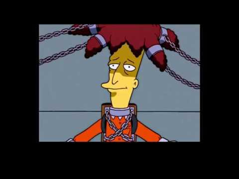 The Simpsons: Sideshow bob becomes Homers guard
