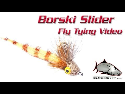 Borski Slider Saltwater Fly Tying Video Instructions - Bonefish Redfish
