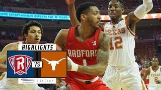 Radford vs. No. 17 Texas Basketball Highlights (2018-19)   Stadium