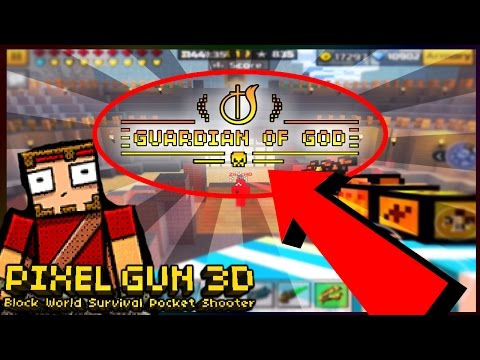 Insane 100 KILLSTREAK In PIXEL GUN 3D! (GUARDIAN OF GOD?!) Real Or Fake?!!