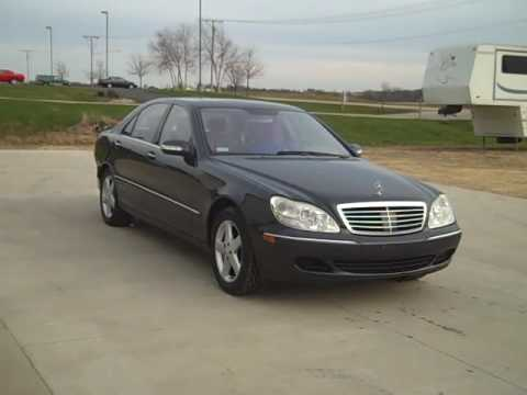 2004 Mercedes Benz S500 Run and Drive video - YouTube