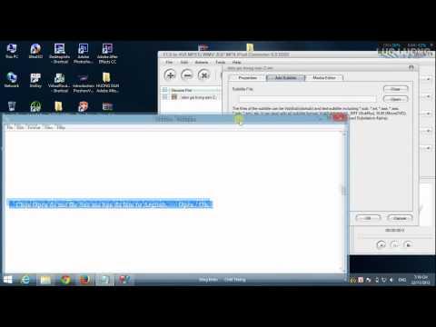 Hướng Dẫn Encode Sub Bằng Phần Mềm FLV to avi mpeg wmv 3gp mp4 ipod converter