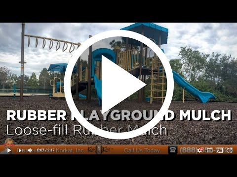 Loose Rubber Mulch For Playgrounds | Rubber Playground Mulch | Groundsmart