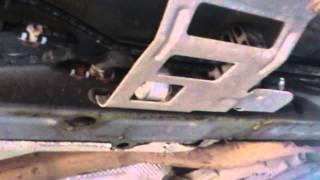 где установлен топливный фильтр на Audi A6 c7