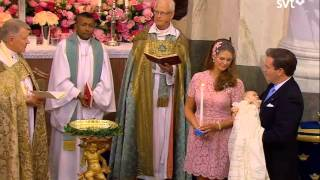 Christening of Princess Leonore Lilian Maria of Sweden