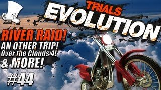 Hatventures - Trials Evolution #44 - River Raid 3! An Other Trip! Over the Clouds 4!