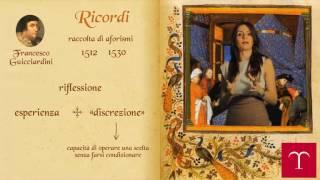 Francesco Guicciardini i Ricordi - Temi e pensieri