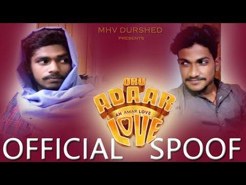 An Amar Love | Official Funny Spoof ft Amar Gajula | Salman | Priya Prakash Varrier | MHV DURSHED