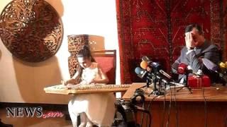 10 ամյա քանոնահարուհի Մերին նվագեց Արմեն Ամիրյանի ասուլիսի վերջում