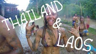 THAILAND & LAOS | Backpacking Tubing Vang Vieng | GoPro