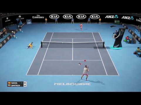 AO Tennis Gameplay