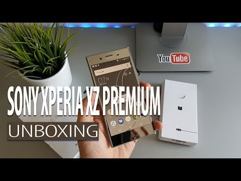 Sony Xperia XZ Premium - Unboxing i prvi dojmovi