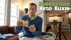 Superfood Keto Hot Chocolate and Full Day of Eating