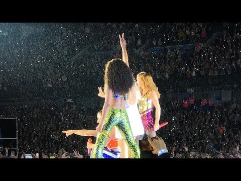 Wannabe & Show Finale   - Spice Girls &39;Spice World 2019&39; Tour - Manchester