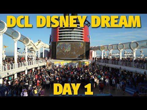 Disney Cruise Line Disney Dream 3-Night Cruise | Day 1