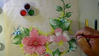 Roberto Ferreira – Novo Projeto – Pintura em tecido Parte 2