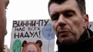 Прохоров на митинге: 8 вопросов граждан