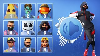 GUESS THE FORTNITE SKIN BY THE DANCE - FORTNITE CHALLENGE | tusadivi