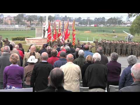 1st Marine Division - 71st Anniversary Morning Colors Rededication Ceremony