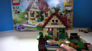 Lego Creator 31038 Changing Seasons Review