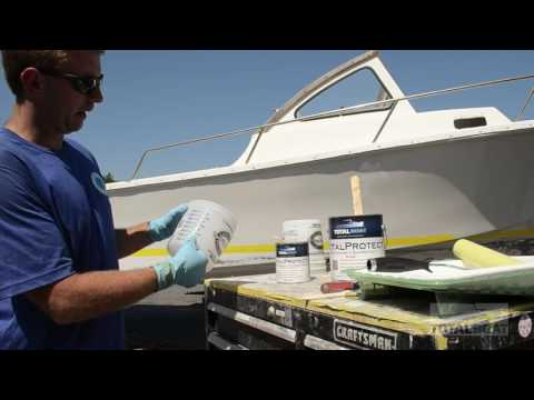 How To Apply Barrier Coat to Your Boat's Bottom