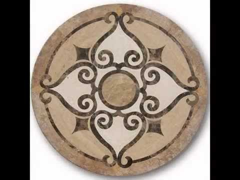 pinterest deals travertine floor stone tumbled wall medallion indoor sunroom stonedeals mosaic on images or natural medallions ideas art best outdoor stones