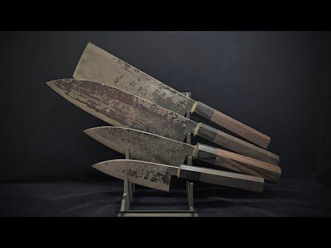 Японские кухонные ножи Такеда Takeda