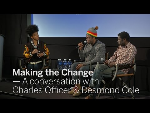 Making the Change: A conversation with Charles Officer and Desmond Cole | Next Wave | TIFF 2017