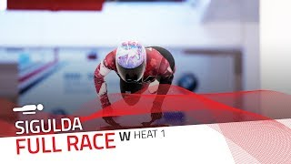 Sigulda | BMW IBSF World Cup 2018/2019 - Women's Skeleton Heat 1 | IBSF Official
