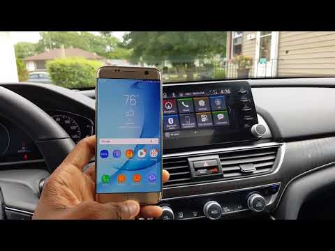 2018 Honda Accord | Smart Features Review! (Android Auto, Wireless Charging, and More!)