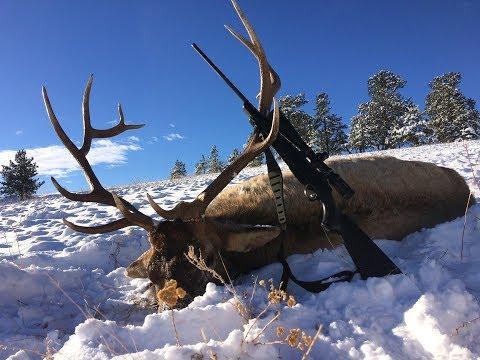 Doug Crookston Colorado, 2016 Late Season Bull Elk Hunt