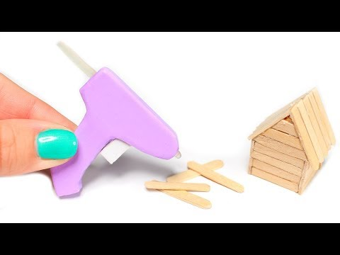 DIY American Girl Doll Glue Gun