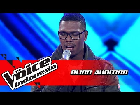 Lodewyk - One Last Cry  | Blind Auditions | The Voice Indonesia GTV 2018