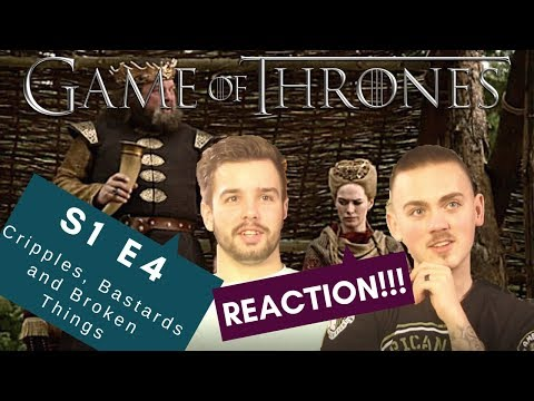 Zach And Carter React   Game Of Thrones S1 E4   Cripples, Bastards And Broken Things   Reaction