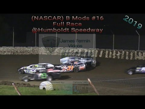 (NASCAR) B Mods #16, Full Race, Humboldt Speedway, 05/31/19
