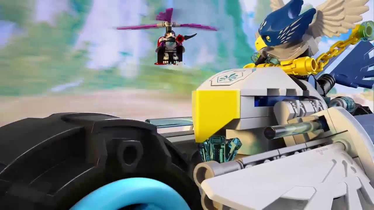 Lego Chima | 70007 | Eglors Twin Bike | Lego 3D Review ...