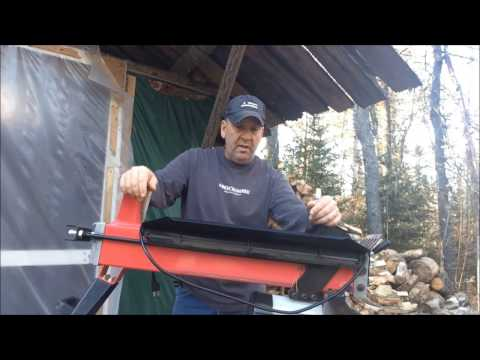 Harbor Freight's Central Machinery Electric Woodsplitter Review