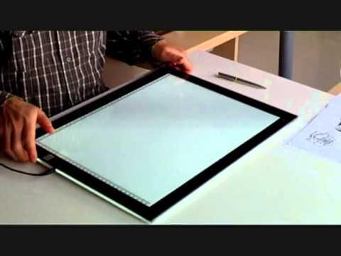 Mesa de luz a3 youtube for Mesa de luz para dibujo