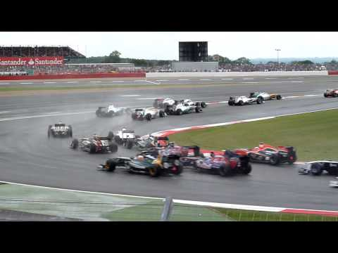 2011 British Grand Prix Race Start